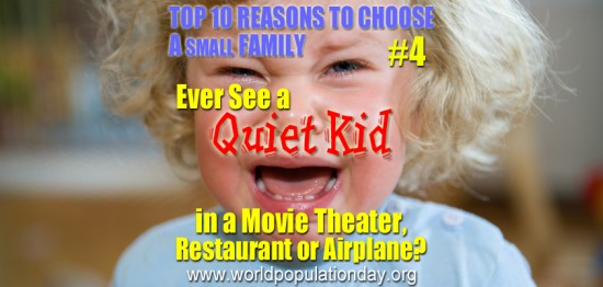 Top 10 Reasons to Choose a Small Family - #4